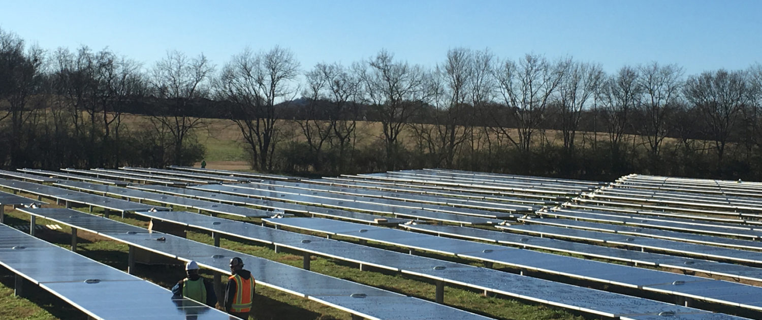 Franklin Water Treatment Plant Commercial Solar Power Project by TRITEC Americas