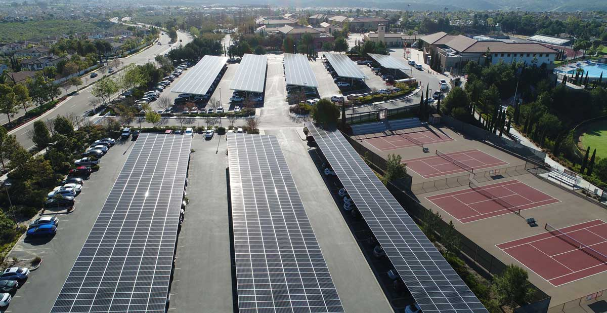 Cathedral Catholic Commercial Solar Power Project by TRITEC Americas