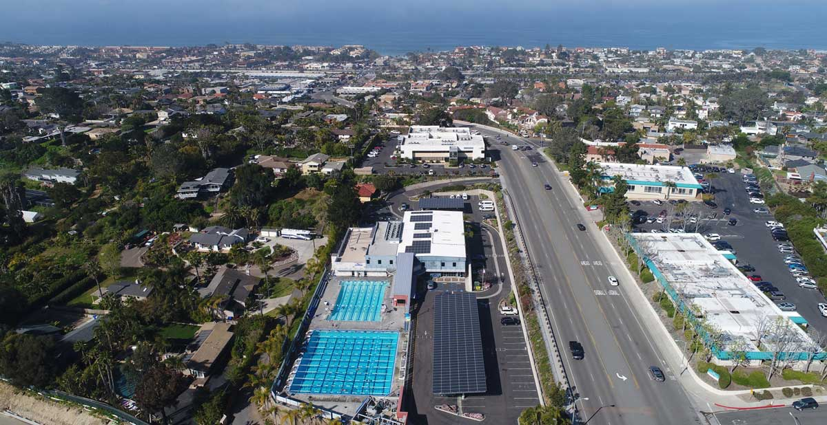Boys and Girls Club Solona Beach Commercial Solar Power Project by TRITEC Americas